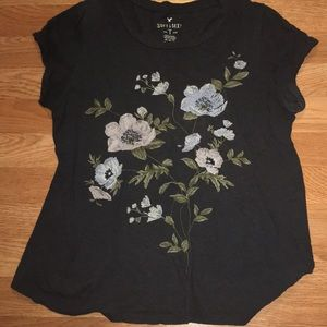 American Eagle Embroidered Tee